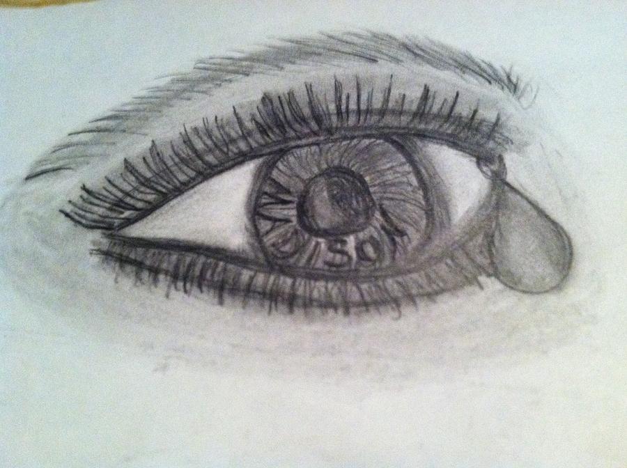 Eye Painting - Madison Memory by Tammy Rekito