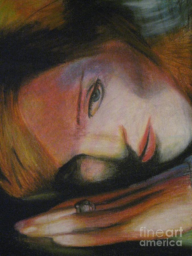 Portrait Pastel - Madonna by Dwayne Goulbourne