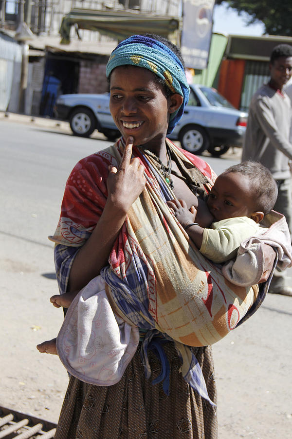 Mother Painting - Madonna Of Addis Ababa No.2 by Robert SORENSEN