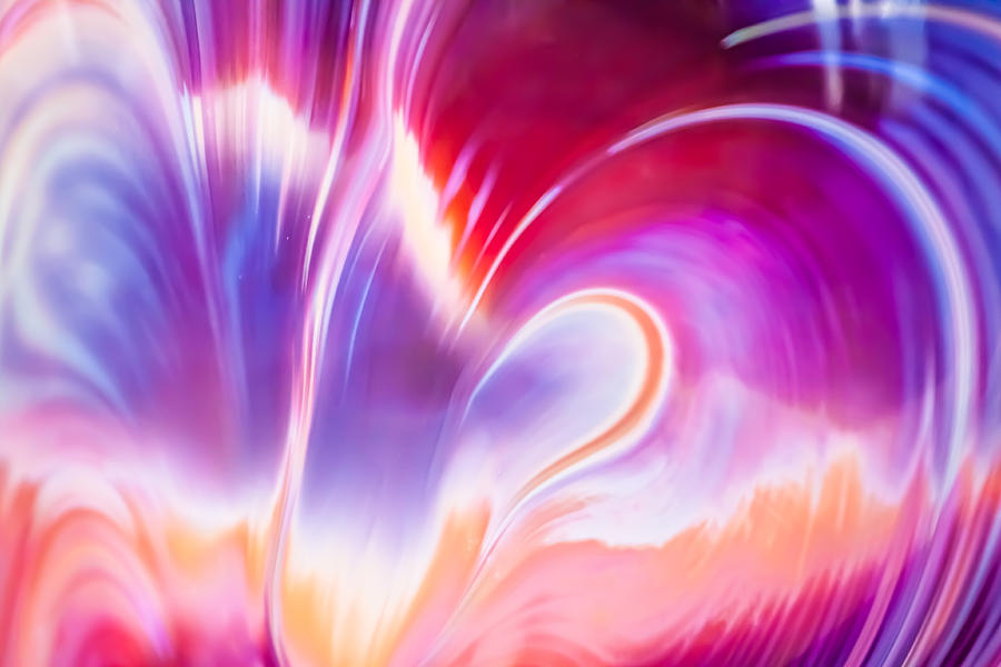Abstract Photograph - Magenta Wave by Adam Pender