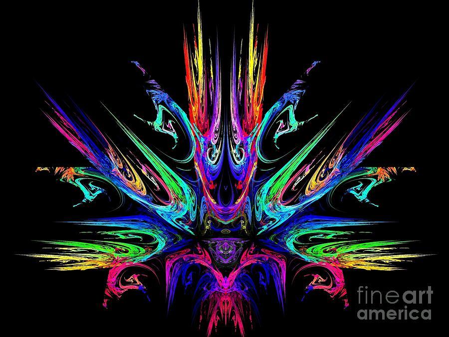 Fire Digital Art - Magic Fire by Klara Acel