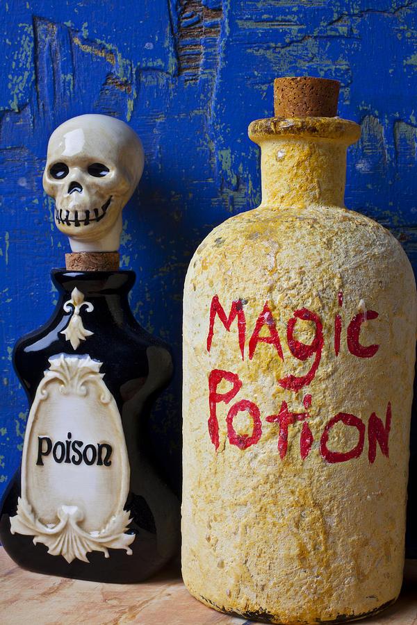 Magic Photograph - Magic Potion by Garry Gay