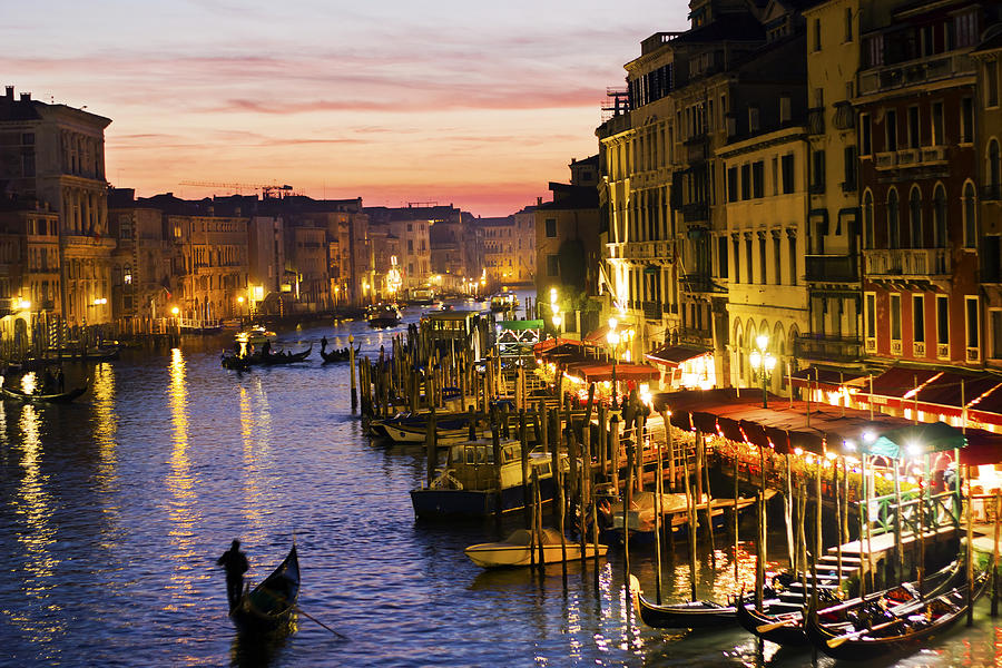 Venice Photograph - Magic Venice by Francesco Riccardo  Iacomino