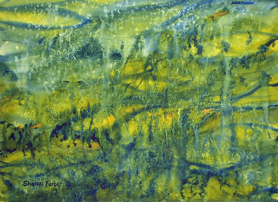 Rainforest Painting - Magical Rainforest by Sharon Farber