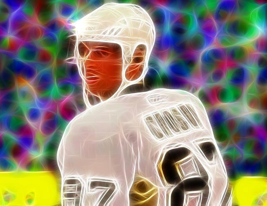 Sidney Crosby Painting - Magical Sidney Crosby by Paul Van Scott