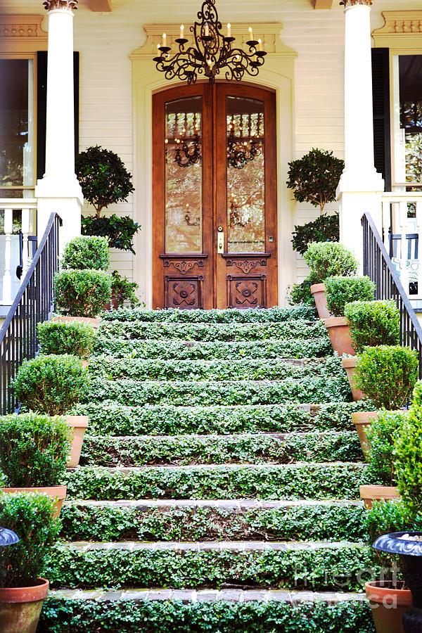 Savannah Photograph - Magnolia Hall Savannah Georgia by Kim Fearheiley