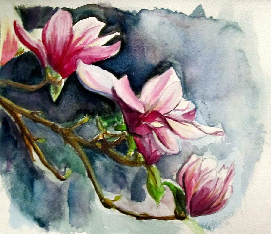 magnolia painting - photo #46