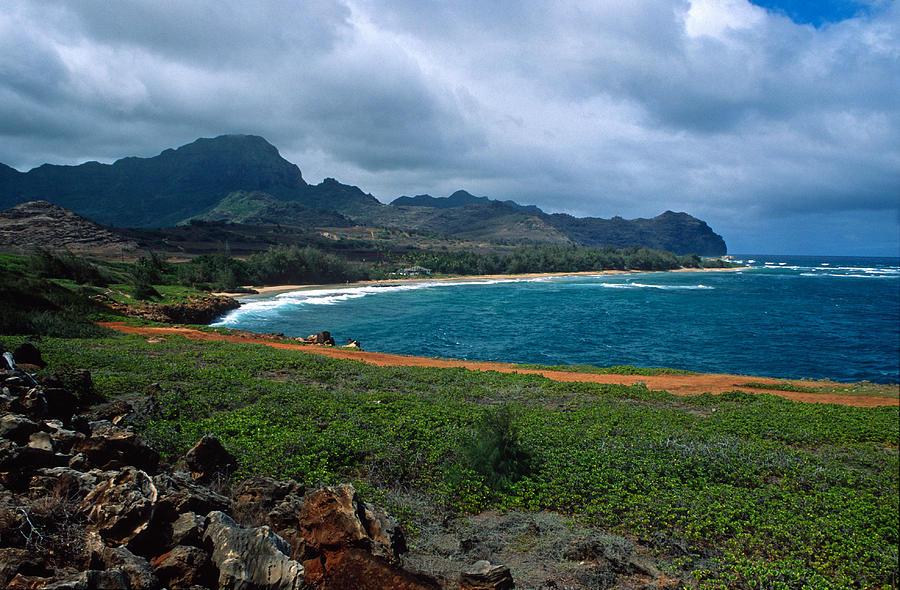 Kauai Photograph - Mahaulepu Beach by Kathy Yates