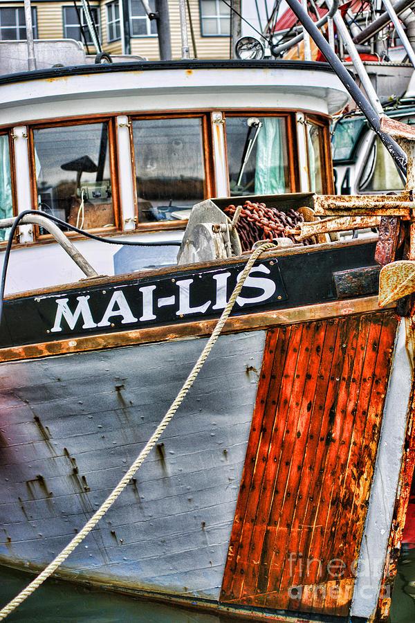 Boats Photograph - Mai-lis Tug-hdr by Randy Harris