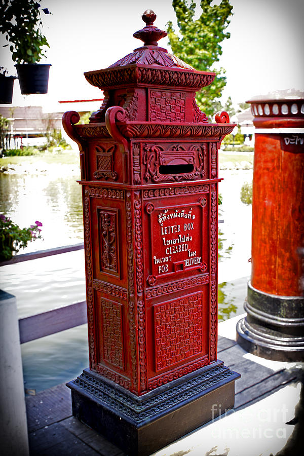 Asia Photograph - Mailbox by Thanh Tran