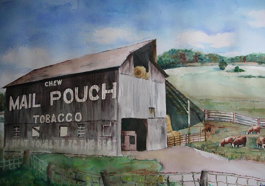 Mailpouch Painting by David Ignaszewski
