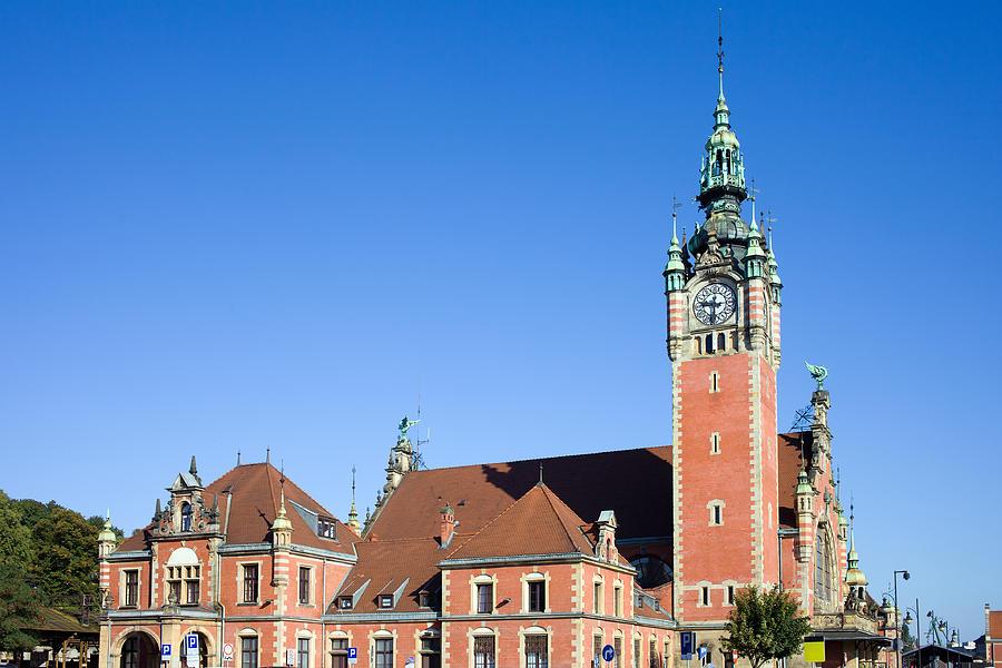 Gdansk Photograph - Main Railway Station In Gdansk by Artur Bogacki