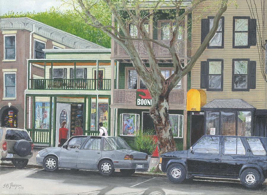 Painting - main st so Piermont NY by Stuart B Yaeger