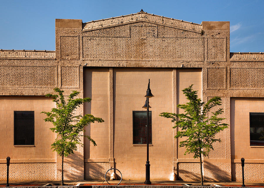 Architecture Photograph - Main Street Building by Steven Ainsworth