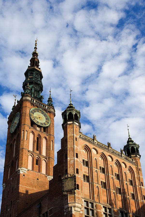 Architecture Photograph - Main Town Hall In Gdansk by Artur Bogacki