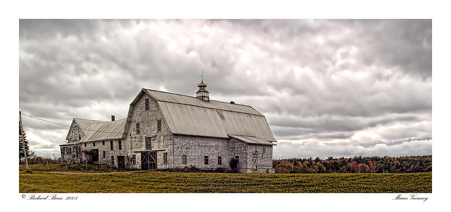 Abandonment Photograph - Maine Vacancy by Richard Bean