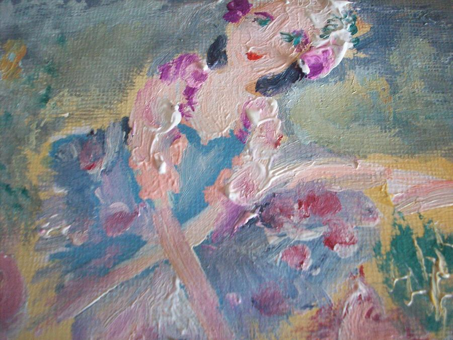 Tutu Painting - Maisie And The Magic Tutu by Judith Desrosiers