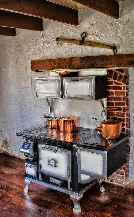 Stove Photograph - Majestic Stove No. 1 by Susan Candelario
