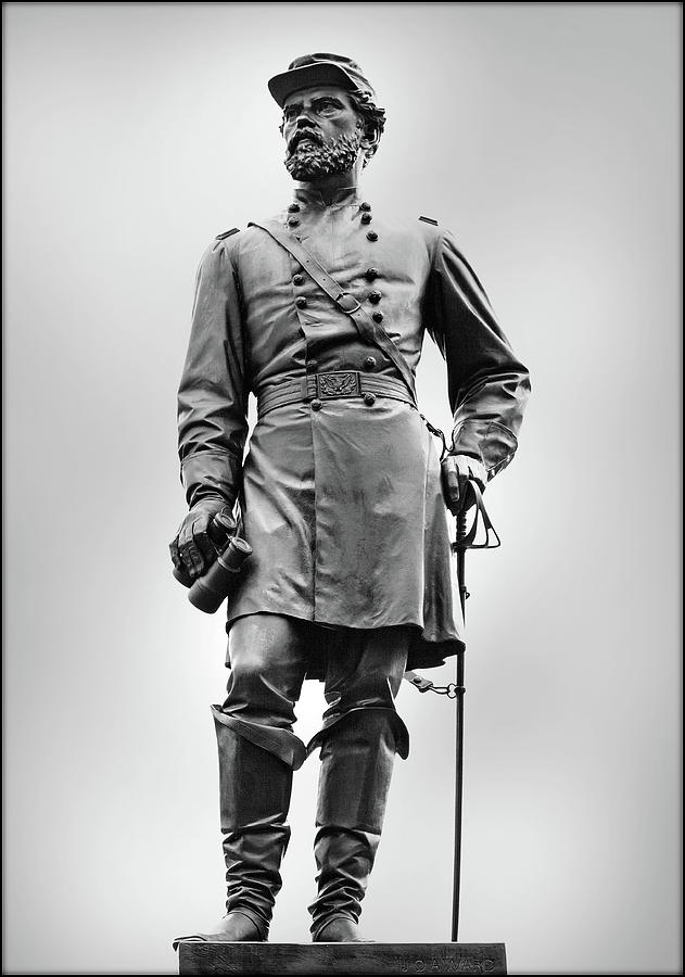 Army Of The Potomac Photograph - Major General John Reynolds Statue At Gettysburg by Randy Steele