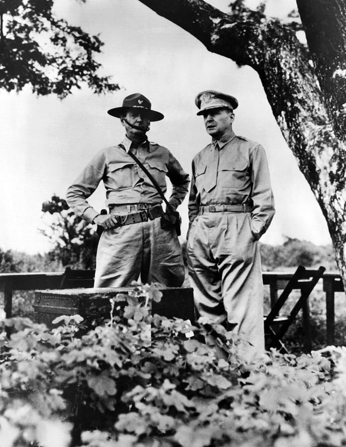 1940s Photograph - Major General Jonathan Wainwright by Everett
