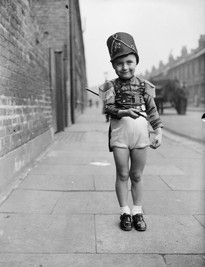 Child Photograph - Major Minor by A R Tanner