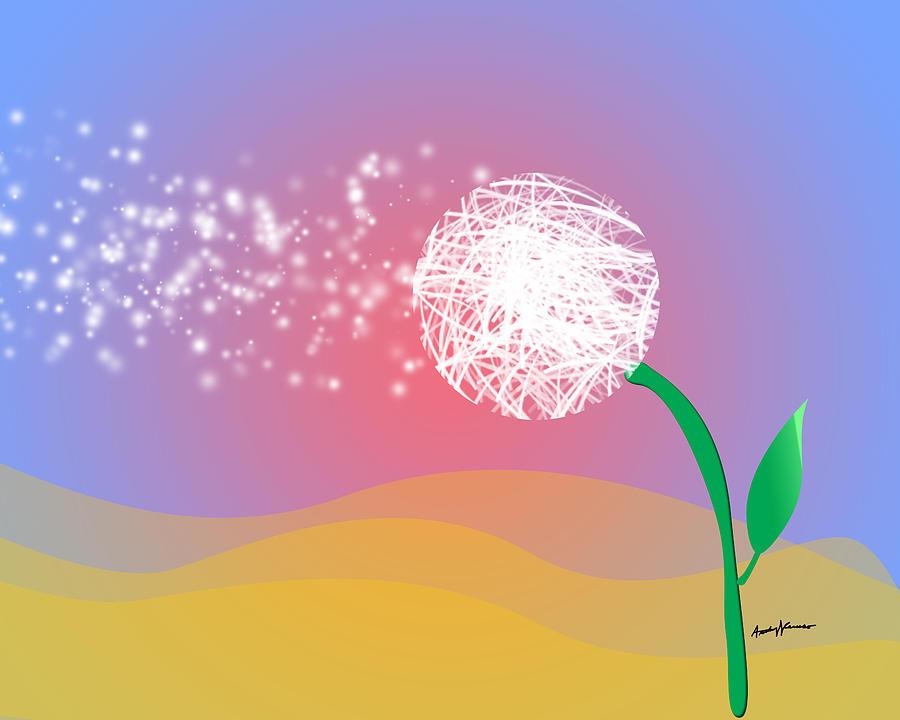 Kids Digital Art - Make A Wish by Anthony Caruso