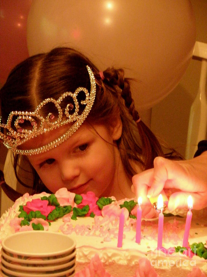 Birthday Photograph - Make A Wish by Lainie Wrightson