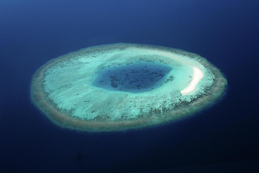 Horizontal Photograph - Maldives Coral Islands by Mohamed Abdulla Shafeeg