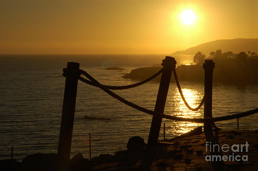 Malibu Photograph - Malibu Sunset by Micah May
