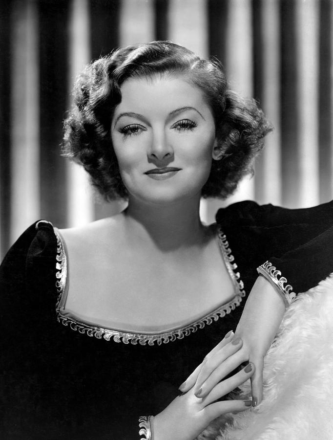 1930s Movies Photograph - Man-proof, Myrna Loy, Mgm Portrait by Everett