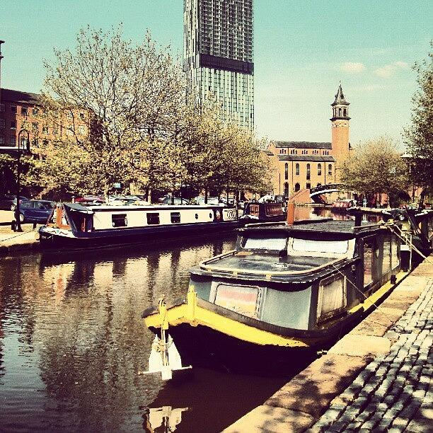 Old Photograph - #manchester #manchestercanal #canal by Abdelrahman Alawwad
