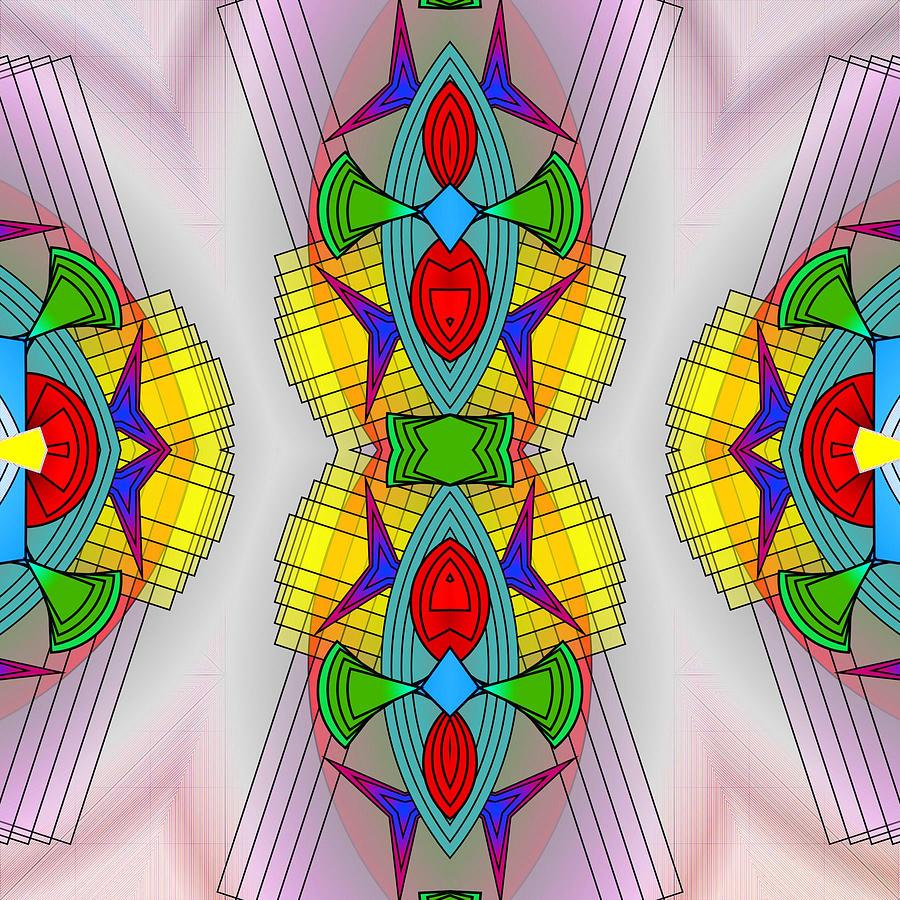 Mandalas Digital Art - Mandala Mystery by Mario Carini