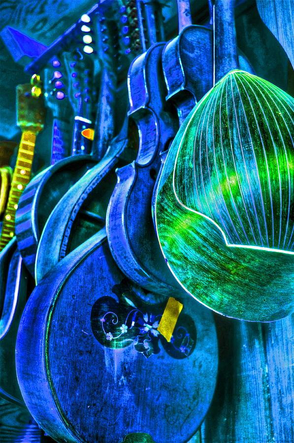 Mandolin Photograph - Mandolin Blues by Frank SantAgata