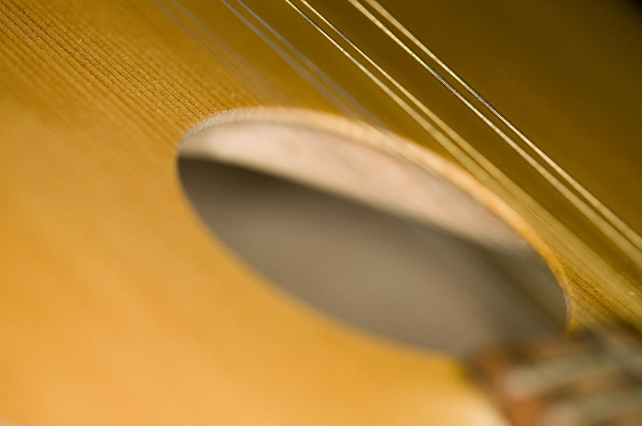 Musical Photograph - Mandolin Core by C Ribet