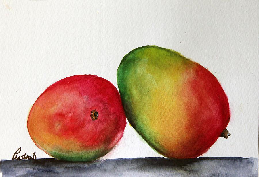 Mango Painting - Mangos by Prashant Shah