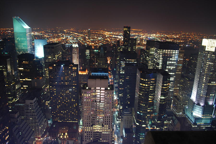 Landscape Photograph - Manhattan by Andy Yoon