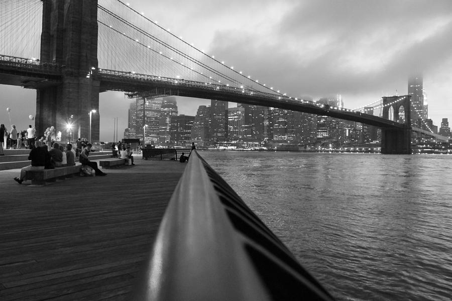 Brooklyn Bridge Photograph - Manhattan Bridge by Nina Mirhabibi
