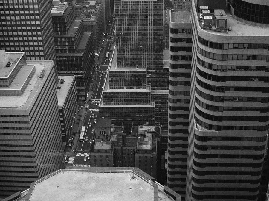 New York Photograph - Manhattan by Naxart Studio