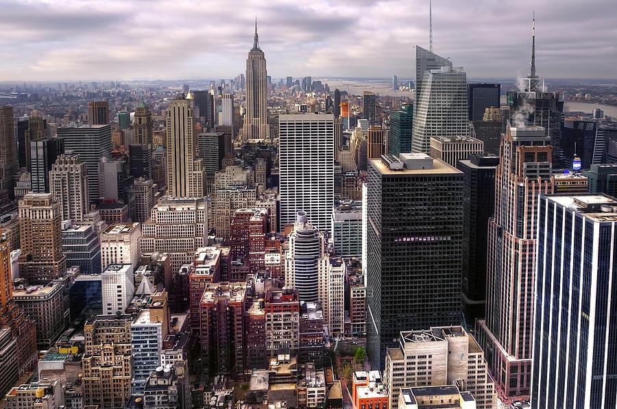 America Photograph - Manhattan02 by Svetlana Sewell