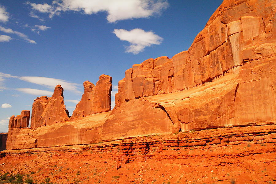 Arches National Park Photograph - Manhatten In Utah by Jeff Swan
