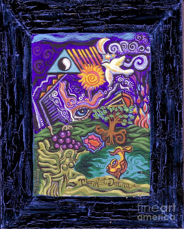 Manifest Destiny Painting - Manifest Destiny by Genevieve Esson