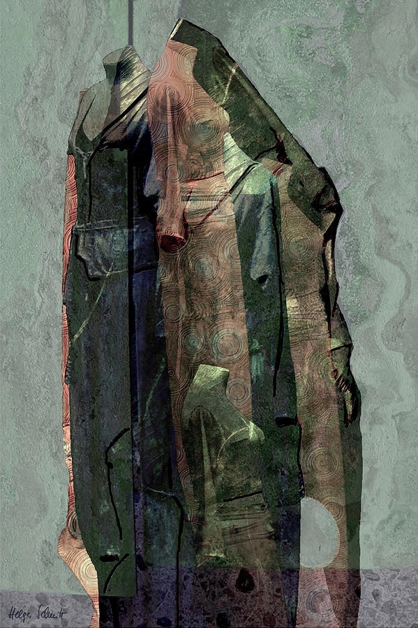 Textiles Digital Art - Mannequins by Helga Schmitt