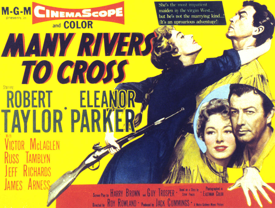 1950s Movies Photograph - Many Rivers To Cross, Eleanor Parker by Everett