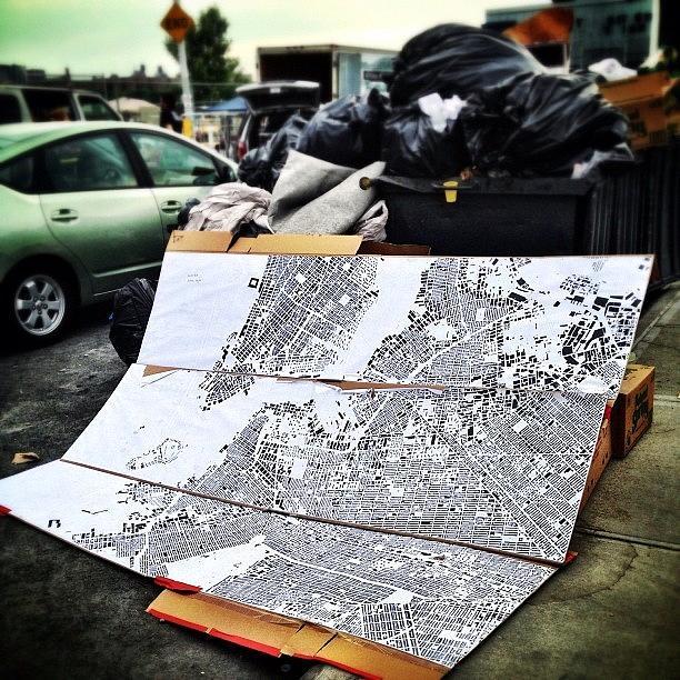 Williamsburg Photograph - Map Of Brooklyn by Natasha Marco