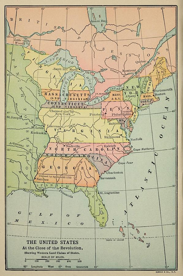 History Photograph Map Of Eastern North North