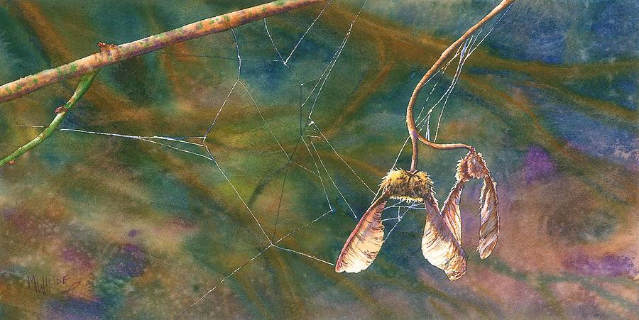 Maple Magic Painting by Melinda Wilde