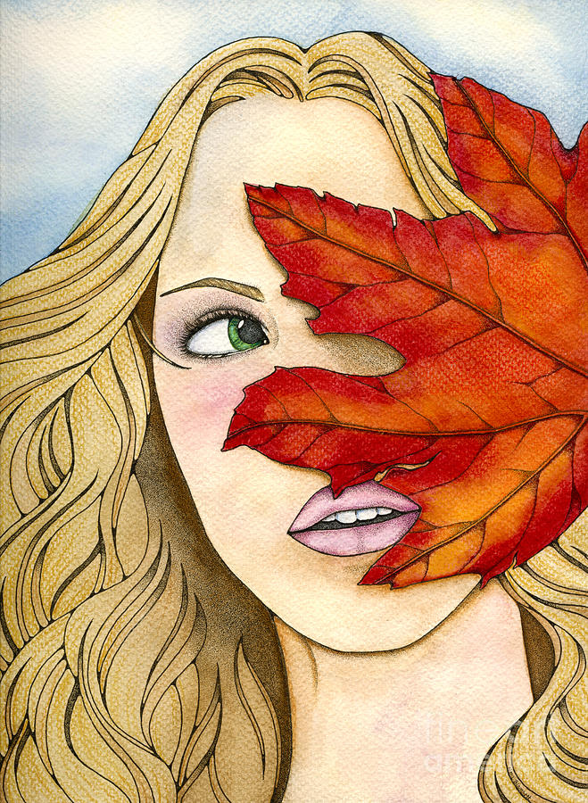 Maple Painting - Maple by Nora Blansett
