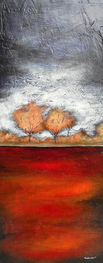 Trees Painting - Maples Gold 2 by Eric Rabbers