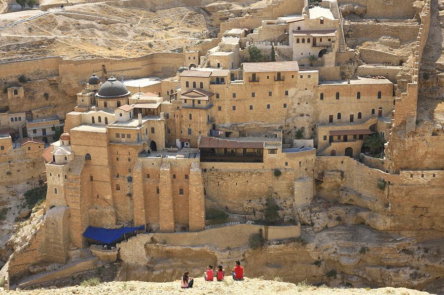 Mar Saba Greek Orthodox Monastery Photograph By