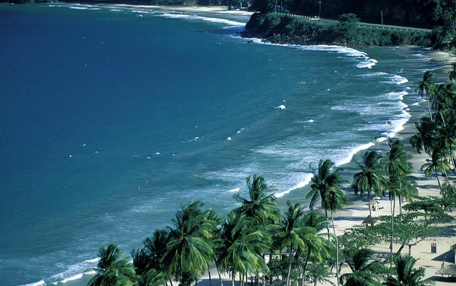 Maracas Bay Beach In Trinidad Photograph By Carl Purcell